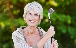 Golfen im Alter