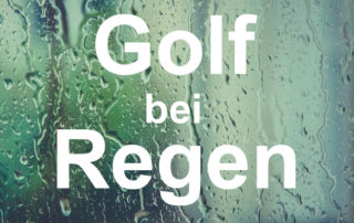 Golf bei Regen, im Regen Golf spielen, Tipps und Tricks, trocken bleiben, Golfball, Golfschläger, Bag, Tasche, Caddy, Golf Regenschirm